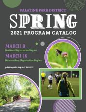 Spring 2021 Program Catalog