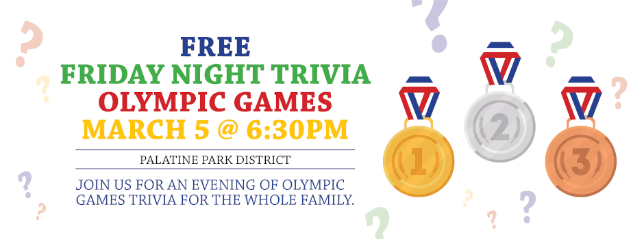 Free Friday Night Trivia on Olympic Games