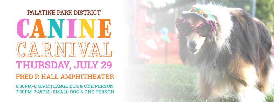 Canine Carnival at Fred P. Hall Amphitheater on July 29