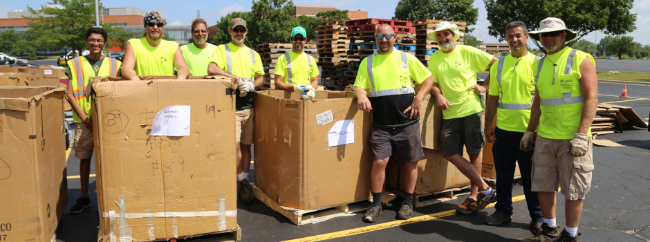 Electronics Recycling Event at Harper College on July 24