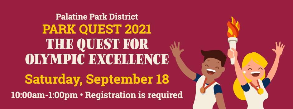Register for Palatine Park District's Park Quest on September 18