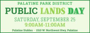 Volunteer at Public Lands Day on September 25