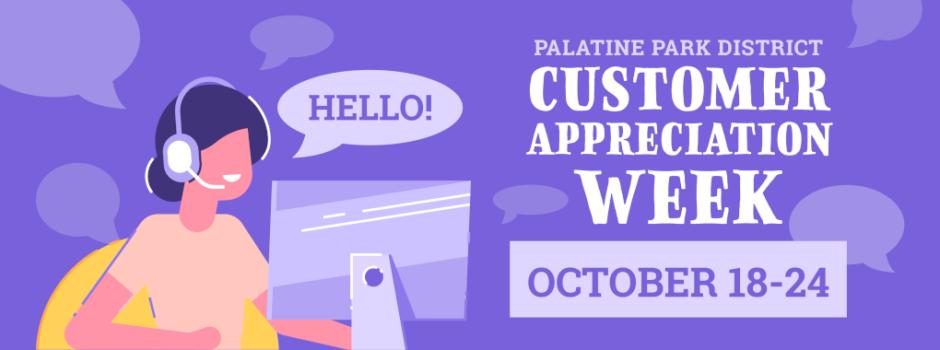 Customer Appreciation Week is October 18-24