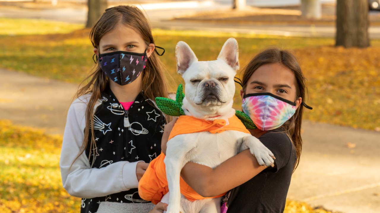2020 Howl-O-Ween Participants at Fred P. Hall Amphitheater